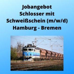 Jobangebot Schlosser mit Schweißschein (m_w_d) Hamburg - Bremen